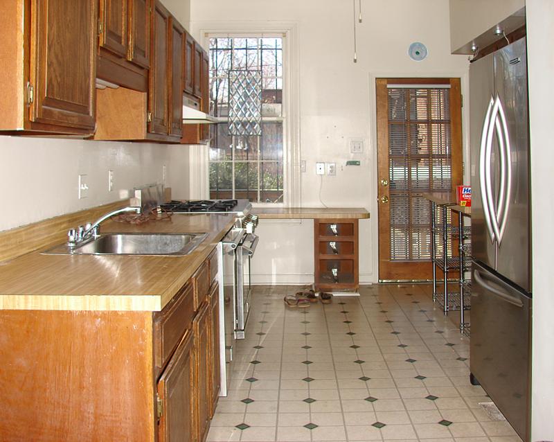 Kitchen renovation: Before demolition
