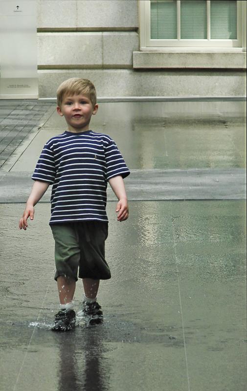 Water Walking 2 (8th place, Pedestrians Challenge)