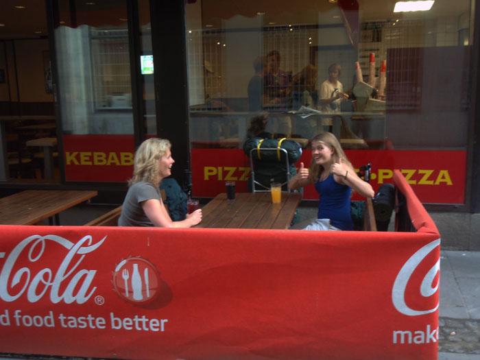 Kebab stopp i Stockholm