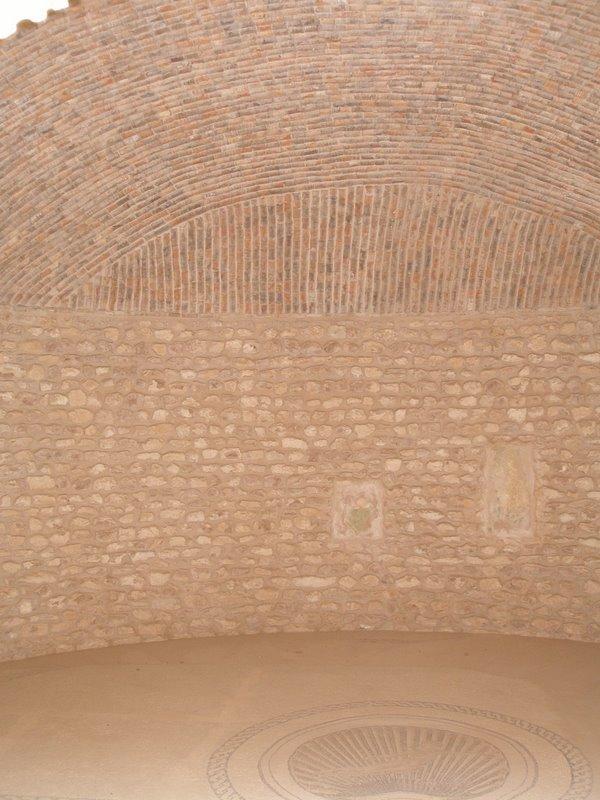 El Djem - Roman villa - bedroom with Venus mosaic motif on floor