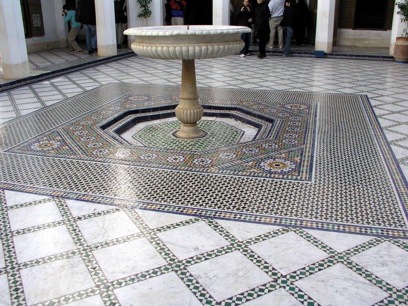073 Marrakech - Mosaic floor.JPG