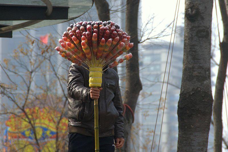 Edible broom.