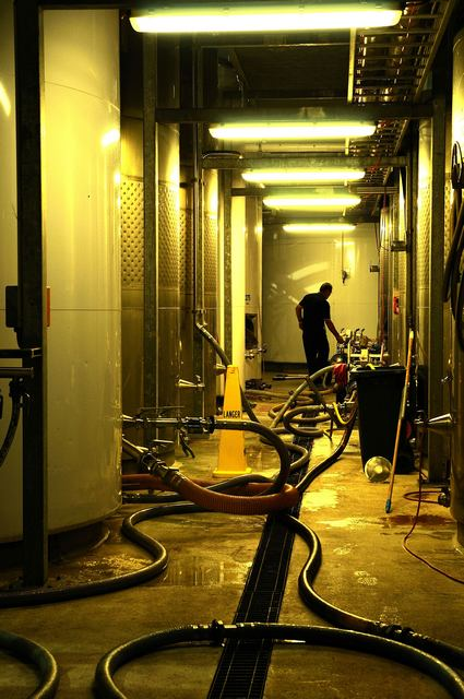 pumps, pipes and Pinot