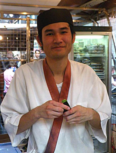 Makoto, the Japanese cook
