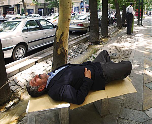 Sleeping Mosayeb