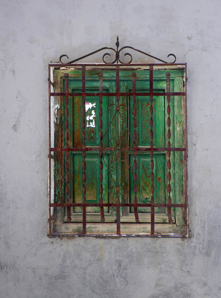 Behind Rusted Bars
