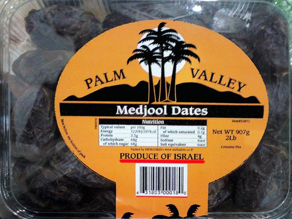 Stolen Palestinian Dates !!