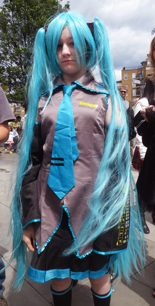 Long Blue Hair