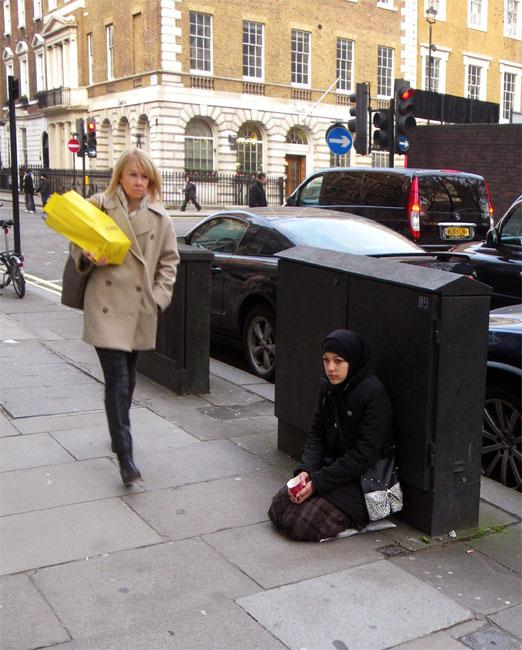 Pedestrian & Beggar