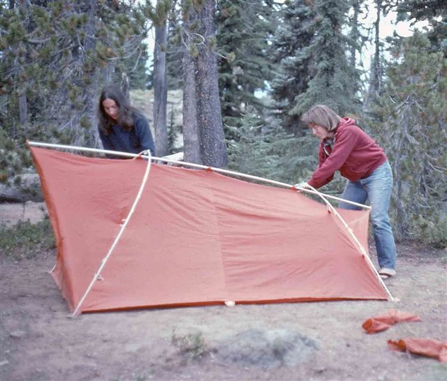 Sears  Hillary   Backpacker Tent