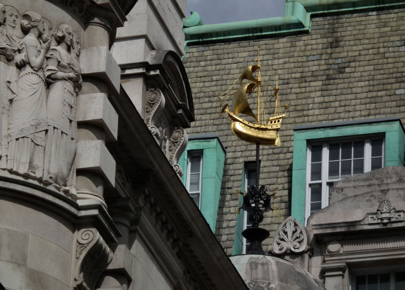 Lloyds Register of Shipping weather vane