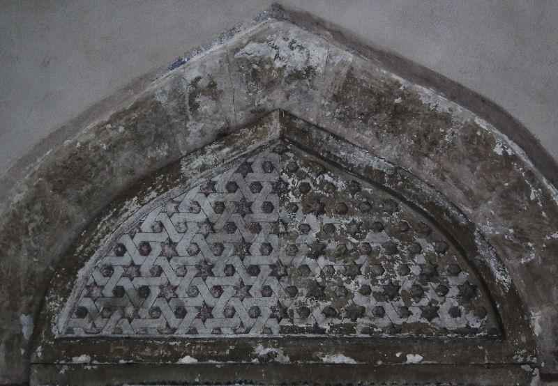 Mostar Karadjoz mosque door lintel