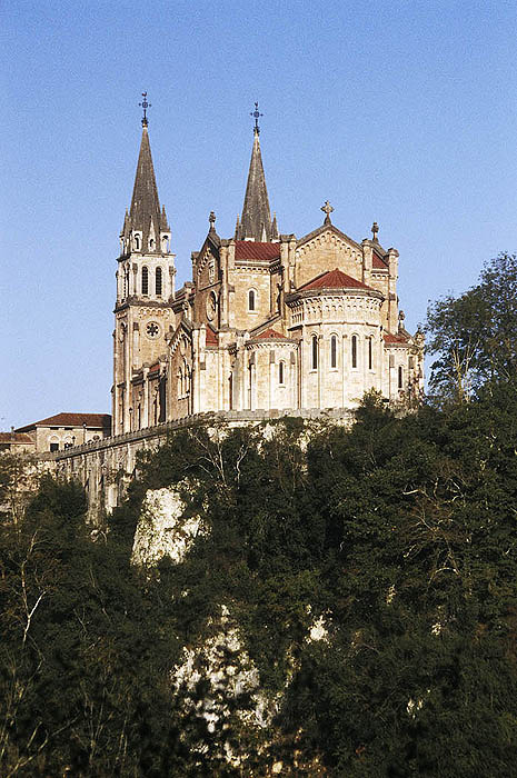 Sanctuary of Covadonga, Asturias