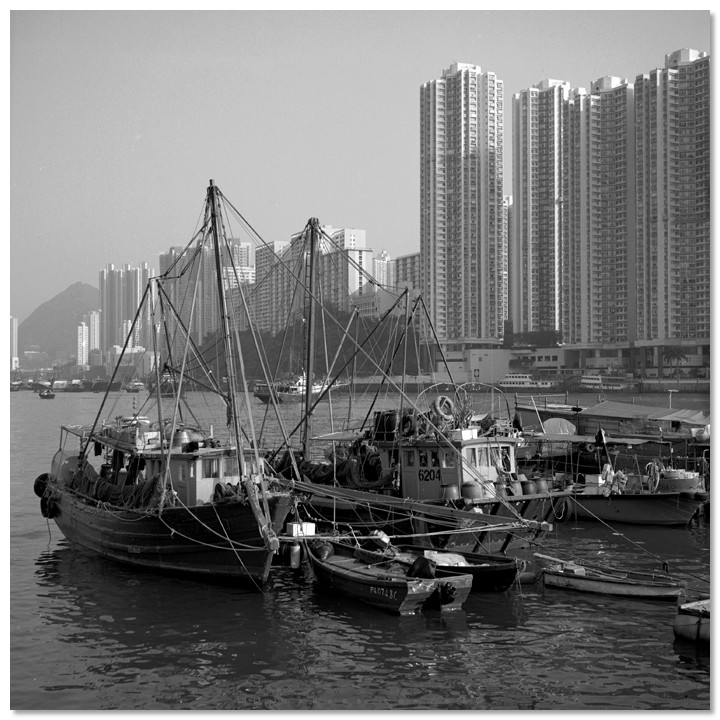 Aberdeen Typhoon Shelter - 香港仔避風塘