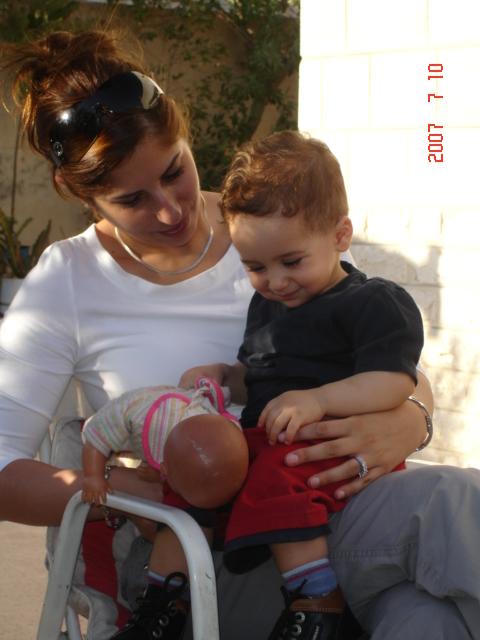 Sanad  Qais and Ahmad 10.7.2007 042.jpg