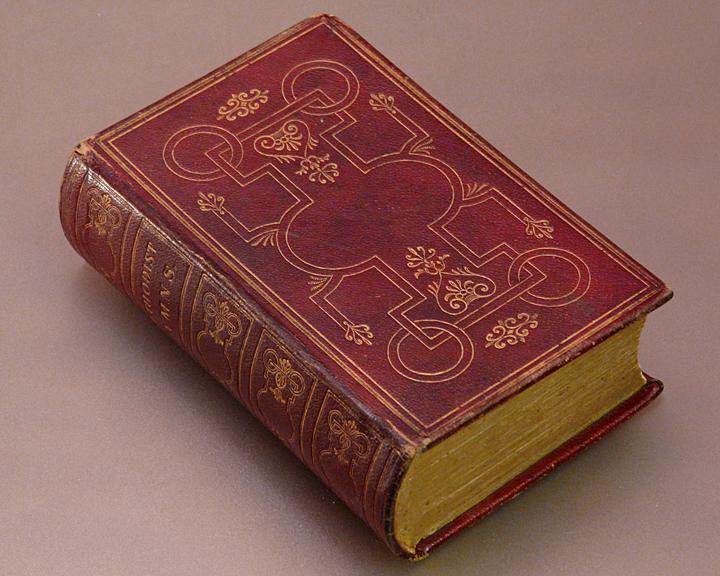 1849 METHODIST HYMNAL - (BOOK MEASURES 3 1/8 x 4 7/8)