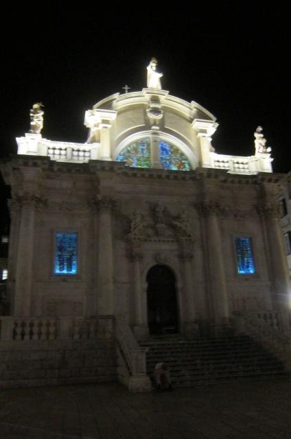 the church again