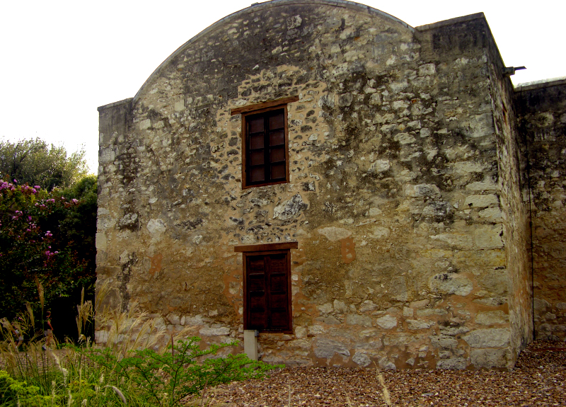 Back Section of the Alamo