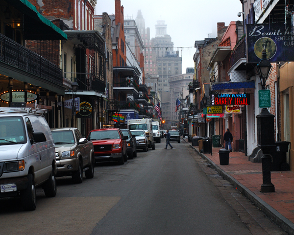 Bourbon St on a Weekday Morning