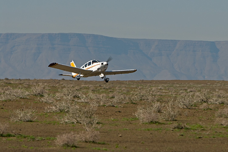 Airstrip at the Fort