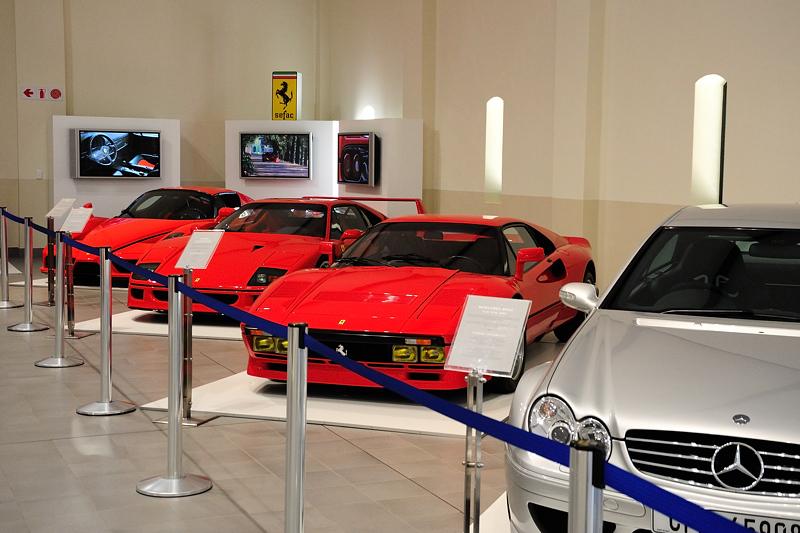 2003 Merc CLK DTM AMG and Ferrari Collection