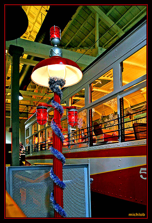 Some Color at the Steamtown Trolly Museum