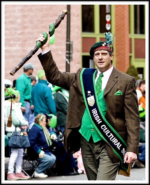 Carrying the Big Stick - A Tradition