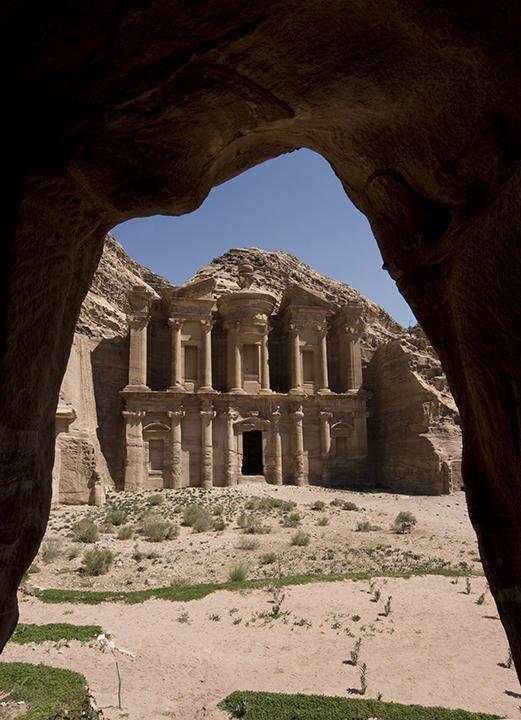 jordan: Petra, El Deir / Monastery