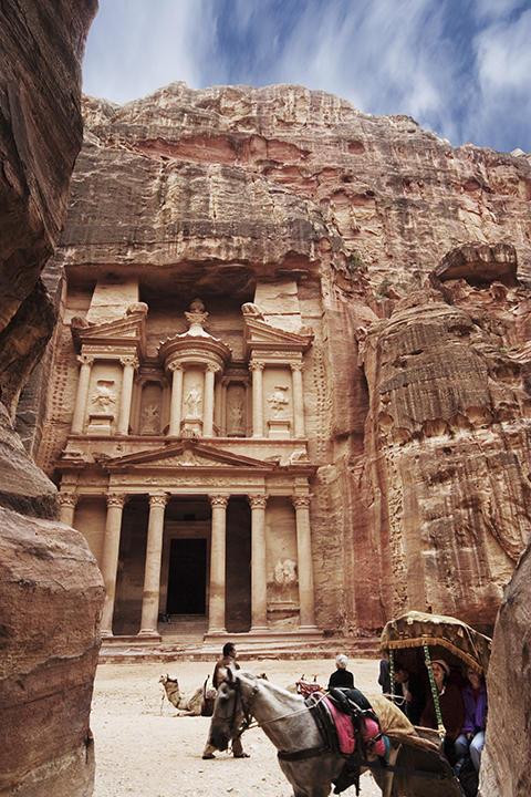 jordan: Petra, Khazneh / Treasury