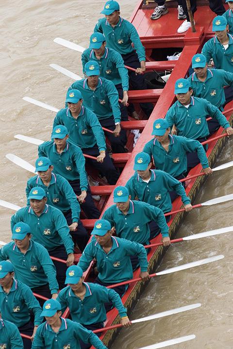 bangkok, ceremonial boat race
