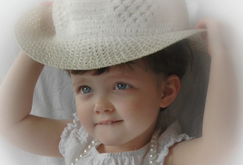 Sadie With Hat