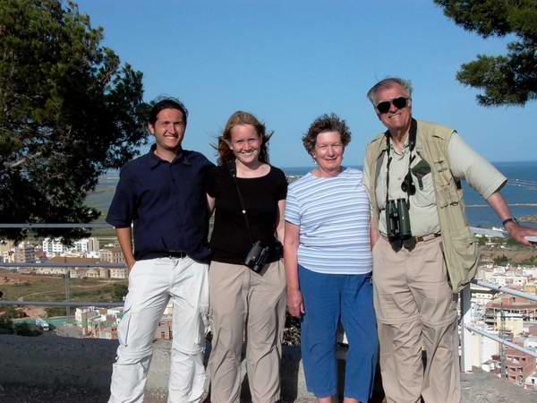 Alberto Galofré, Nancy Marsh, Iben H. Sørensen, Cristian Jensen (left to right). Sant Carles de la Ràpita