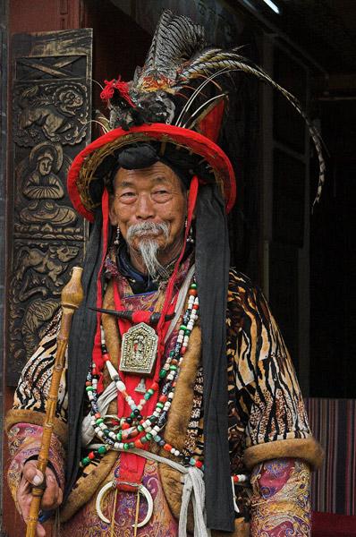 A Dongpa Shaman. Lijiang