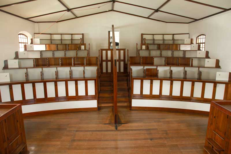 Chapel at Port Arthur - all prisoners isolated from each other