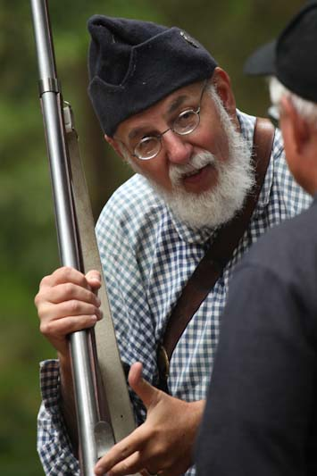 Larry explains the 1795 Springfield musket