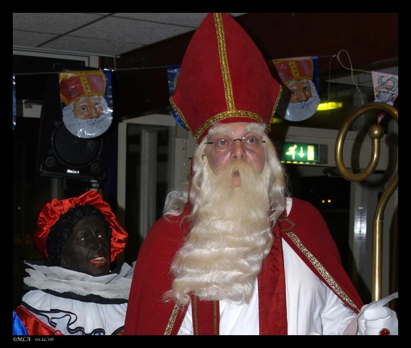 1 december: Sinterklaas en Zwarte Piet 1 van 3