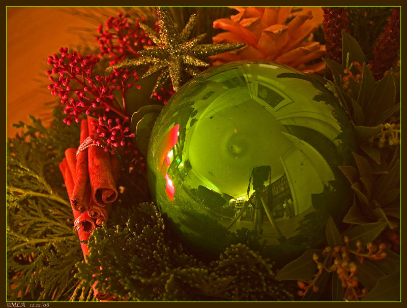 12 december: Christmas decoration with ...