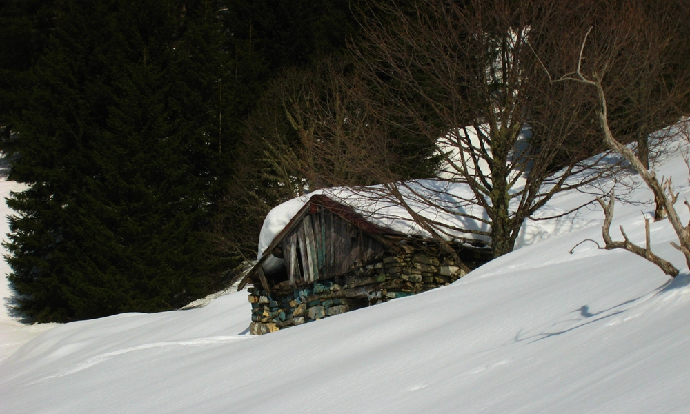 cabane dans Combe Madame