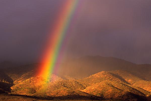 Rainbow, Mingus Mountain, Cottonwood, AZ