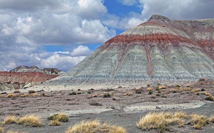 Chinle mound, Petrified Forest National Park, AZ