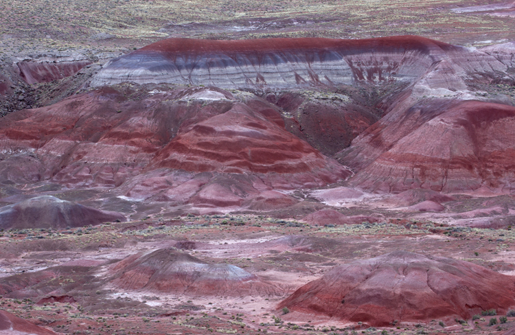 Chinle Formation, Painted Desert, Petrified Forest National Park, AZ