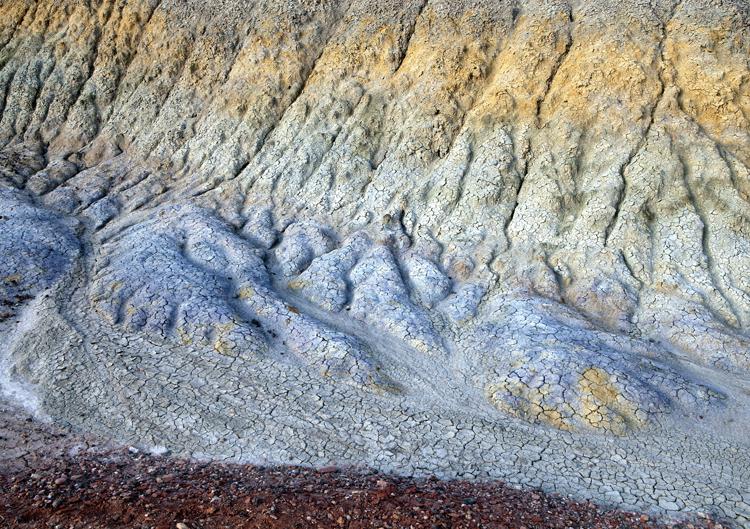Chinle rivulets, Vermillion Cliffs National Monument, AZ