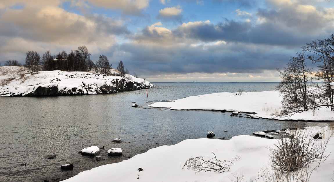 Snow and Open Waters