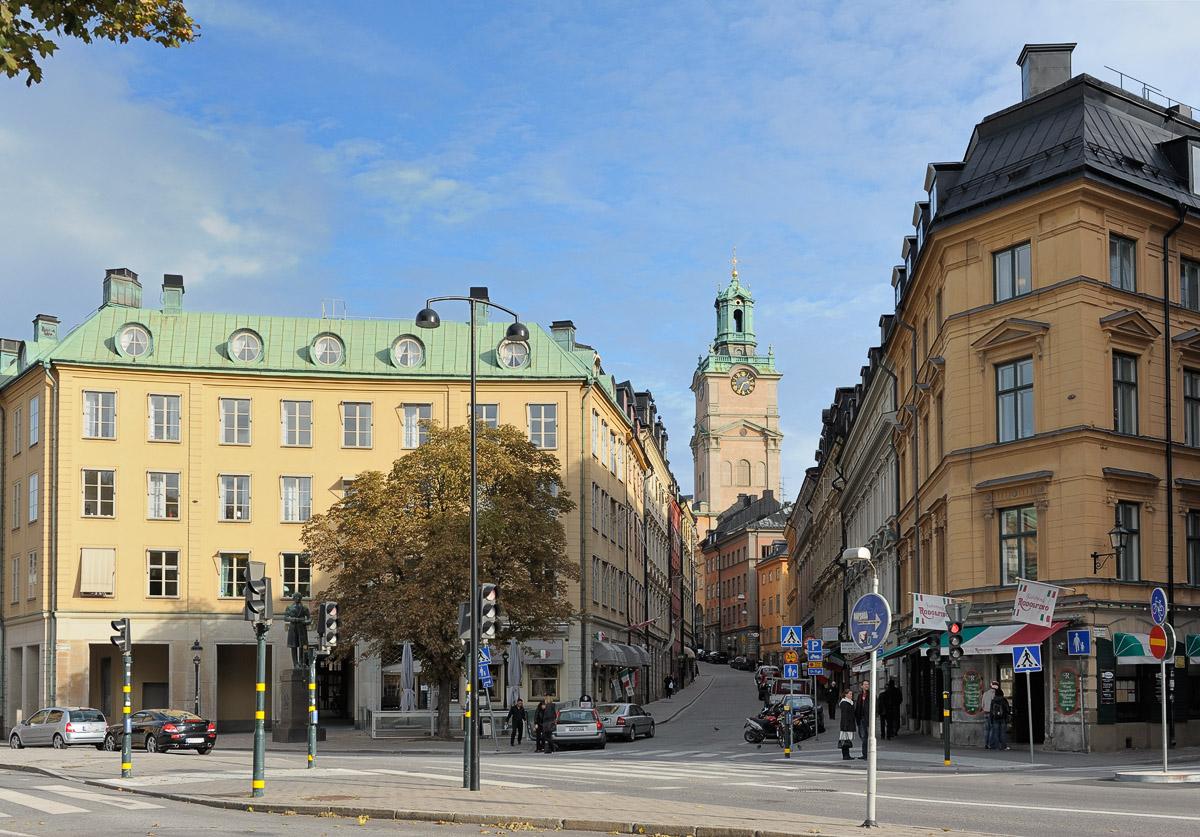 Riddarhustorget and Storkyrkobrinken