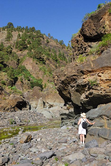 Hiking Caldera de Taburiente