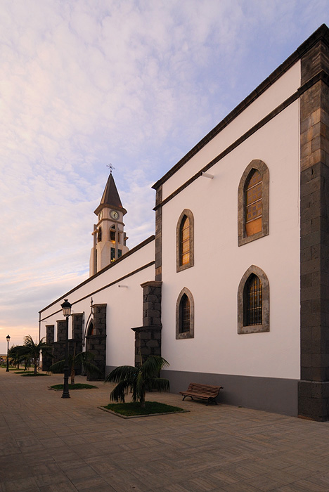 Evening at Ermita de San Martin de Porres