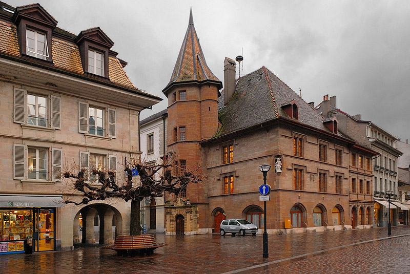 The Town Hall of Morges