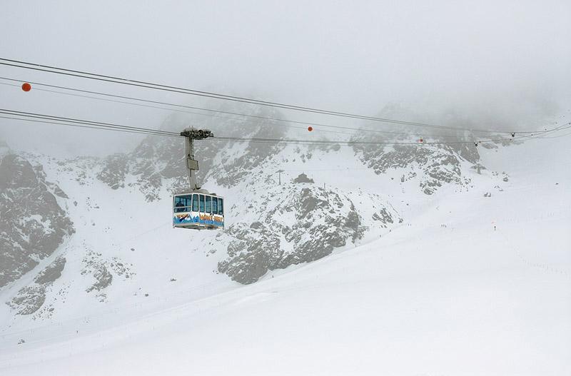 The Mont Fort Gondola