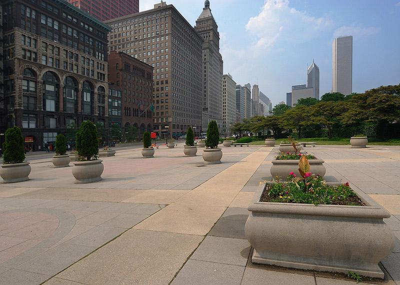 Congress Plaza & Michigan Avenue