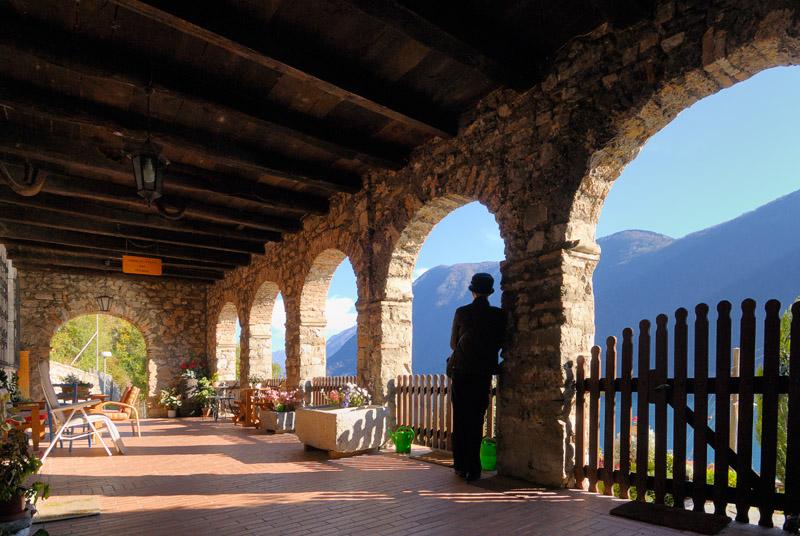 Terrace in Gandria